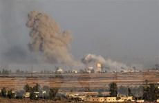 Liên quân do Mỹ đứng đầu tấn công nhiều vị trí quân sự Syria