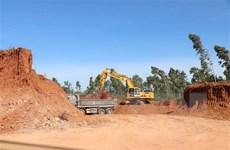 Bình Định: San phẳng cả quả đồi khi chưa có giấy phép khai thác