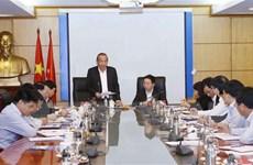 Thông báo kết quả thẩm tra Ban cán sự đảng Bộ Tài nguyên và Môi trường
