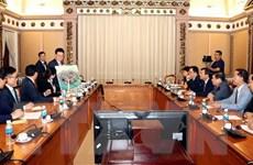 Thành phố Hồ Chí Minh và Tập đoàn Lotte hợp tác xây dựng cơ sở hạ tầng