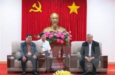 Đoàn công tác Bộ Lễ nghi và Tôn giáo Campuchia thăm tỉnh Bình Dương