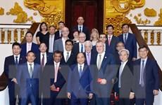 Thủ tướng Nguyễn Xuân Phúc tiếp các nhà đầu tư quốc tế ngành du lịch