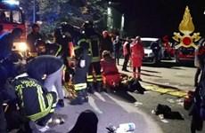 Giẫm đạp trong hộp đêm tại Italy, hơn 120 người thương vong