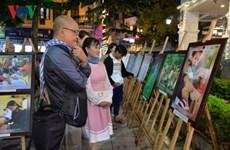 1.270 tác phẩm tham dự thi ảnh Chăm sóc sức khỏe ban đầu cho người dân