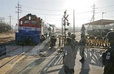 Hàn-Triều bắt đầu khảo sát chung tuyến đường sắt dọc Biển Nhật Bản