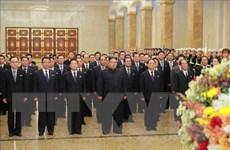 Nhà lãnh đạo Triều Tiên tới viếng cung Thái dương Kumsusan