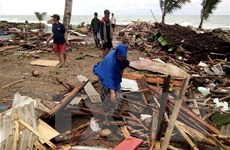 Sóng thần ở Indonesia: Con số thương vong, mất tích tiếp tục tăng vọt