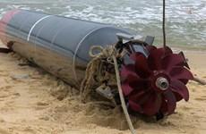 Công bố nguồn gốc vật thể lạ ngư dân phát hiện tại bờ biển Phú Yên