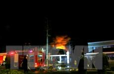 [Photo] Hiện trường vụ cháy tại khu công nghiệp Trà Nóc