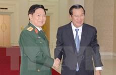 Hợp tác quốc phòng luôn là trụ cột trong quan hệ Việt Nam-Campuchia