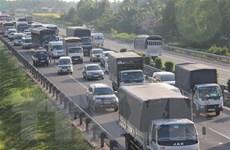 Cao tốc TP.HCM-Trung Lương sẽ tạm dừng thu phí từ 0 giờ 1/1/2019
