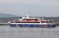 Đưa tàu cao tốc hai thân vào hoạt động tuyến Phan Thiết-Phú Quý