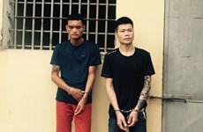 Hà Nội: Phạt tù hai đối tượng cướp giật hai tiệm vàng trong 4 ngày