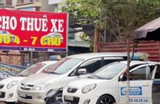 Dịch vụ cho thuê xe ôtô tự lái dịp Tết bắt đầu khan hàng