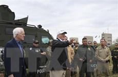 Tổng thống Mỹ quyết thúc đẩy dự án bức tường biên giới