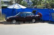 Xác định vật nghi là mìn cài trên xe cán bộ kiểm lâm Bình Phước
