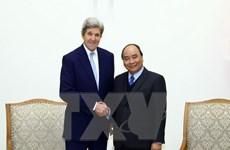 Thủ tướng Nguyễn Xuân Phúc tiếp cựu Bộ trưởng Ngoại giao Hoa Kỳ