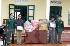 Quảng Ninh: Bắt giữ hai đối tượng vận chuyển 113kg pháo lậu
