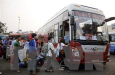 ''Cháy vé'' xe Tết đi khu vực miền Trung và Tây Nguyên