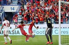 [Photo] Cận cảnh Việt Nam vượt qua Jordan để lọt vào tứ kết Asian Cup