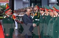 Thủ tướng kiểm tra công tác sẵn sàng chiến đấu tại Tổng cục 2