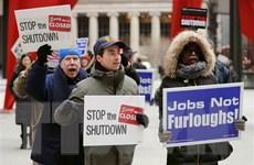 Công chức Mỹ biểu tình phản đối bế tắc chính trị ảnh hưởng thu nhập