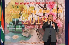 Cộng đồng người Việt tại cực Nam châu Phi vui đón Tết cổ truyền