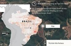 Vụ vỡ đập tại Brazil: Chạy đua thời gian để tìm kiếm người mất tích