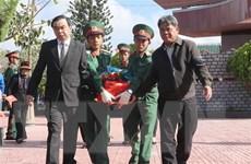 Gia Lai tổ chức lễ truy điệu và an táng 14 hài cốt liệt sỹ