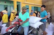Hơn nửa triệu người nghèo nhận được gạo hỗ trợ trước Tết Nguyên đán