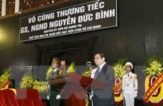 Lễ viếng, an táng đồng chí Nguyễn Đức Bình tại quê nhà Hà Tĩnh