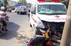An Giang: Tài xế ngủ gật gây tai nạn khiến một thai phụ mất con