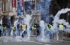 Tổng thống Pháp lên án hành động biểu tình bạo lực và bài Do Thái
