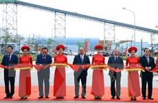 Thủ tướng Nguyễn Xuân Phúc cắt băng khánh thành Nhiệt điện Thái Bình