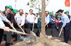 Hình ảnh Thủ tướng dự Lễ phát động Tết trồng cây năm 2019