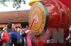 Khai hội Kinh Dương Vương tri ân tổ tiên có công khai thiên lập quốc