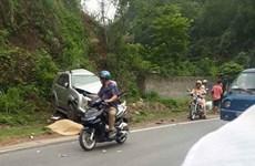 Hòa Bình: Tai nạn liên hoàn trên dốc Cun, nhiều người thoát nạn