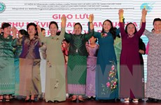 Giao lưu phụ nữ Việt Nam-Campuchia đoàn kết, hợp tác và phát triển