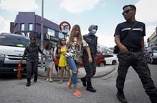 Năm phụ nữ có quốc tịch Việt Nam bị bắt giữ tại Malaysia