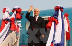Báo Thái Lan đưa tin về chuyến công du của Tổng Bí thư, Chủ tịch nước