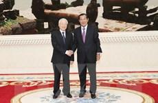 Việt Nam luôn dành ưu tiên cao cho củng cố quan hệ với Campuchia