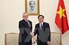 Thúc đẩy quan hệ thương mại giữa hai nước Việt Nam-Hoa Kỳ