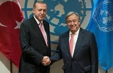 Thổ Nhĩ Kỳ và Liên hiệp quốc trao đổi về tình hình Syria