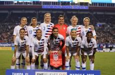 Các nữ cầu thủ kiện Liên đoàn bóng đá Mỹ vì phân biệt đối xử