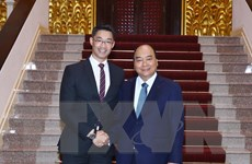 Thủ tướng Nguyễn Xuân Phúc tiếp chuyên gia kinh tế Philipp Rosler