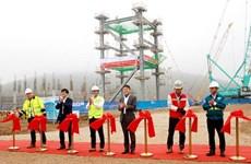 Lilama lắp đặt kết cấu thép tại Nhiệt điện Nghi Sơn 2