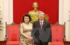 Campuchia sẽ phối hợp với Việt Nam triển khai các hiệp định đã ký