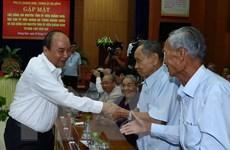 Thủ tướng gặp mặt nguyên cán bộ lãnh đạo Quảng Nam, Đà Nẵng
