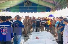 Bộ Ngoại giao yêu cầu xác minh nhân thân người Việt bị nạn ở Thái Lan