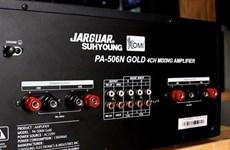 Mở rộng kiểm tra vụ sản xuất amply Jarguar có dấu hiệu giả mạo